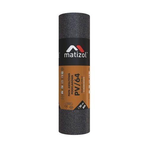 Papy, Papa asfaltowa podkładowa Matizol PV/64 20 m2