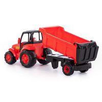 Traktory dla dzieci, Mistrz traktor z naczepą