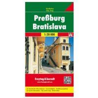 Mapy i atlasy turystyczne, Bratysława mapa 1:20 000 Freytag & Berndt (opr. twarda)
