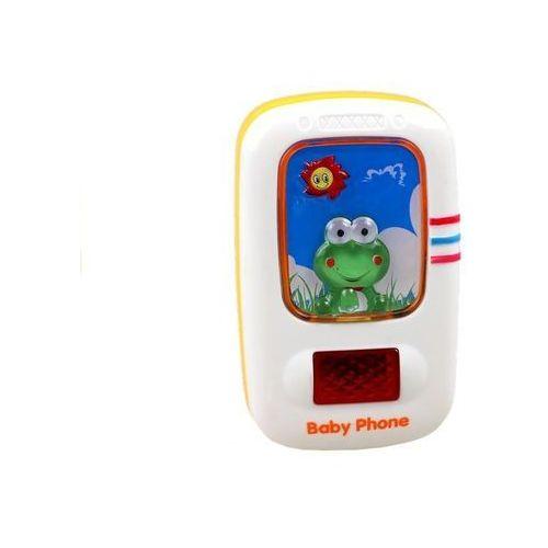 Telefony dla dzieci, Telefon edukacyjny dla maluszka telefonik z żabką - Lean Toys OD 24,99zł DARMOWA DOSTAWA KIOSK RUCHU