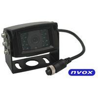 Kamery cofania, NVOX GDB2095 Samochodowa kamera cofania 4PIN CCD2 SHARP w metalowej obudowie 12V 24V