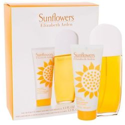 Elizabeth Arden Sunflowers zestaw Edt 100ml + 100ml Balsam dla kobiet