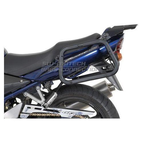 Stelaże motocyklowe, STELAŻ EVO NA KUFRY BOCZNE SUZUKI GSF 1200 BAND./S (01 - 05) BLACK SW-MOTECH