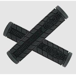 Chwyty kierownicy Lizardskins Logo Dual Compound 130mm czarne