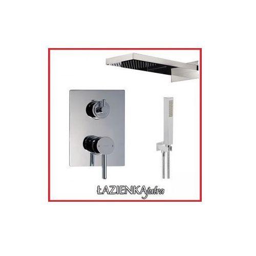 Podtynkowy zestaw prysznicowy z baterią OMNIRES Y1237/K, chrom ZEST86