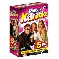 Piosenki weselne i muzyka biesiadna, Polskie Karaoke VOL. 1 - Mega Kolekcja Karaoke (5 płyt DVD)