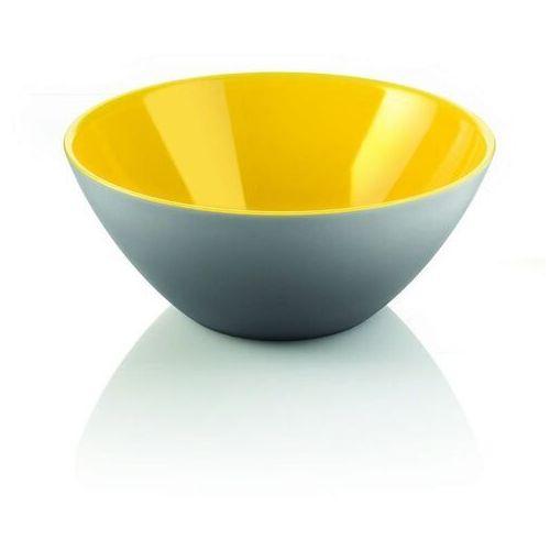 Misy i miski, Guzzini - My Fusion - misa 20 cm, czarno - żółta - czarny ||żółty