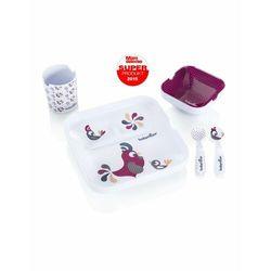 Babymoov Zestaw obiadowy Lovely Lunch (Dziewczynki) A005507