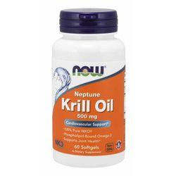 NOW Foods Olej z Kryla Neptune 500 mg 60 kaps