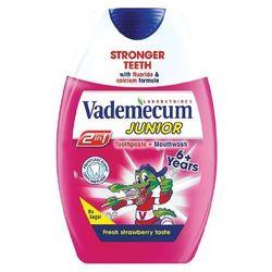 Vademecum 2 w1 Pasta do Zębów dla Dzieci 6+ Truskawka 75 ml