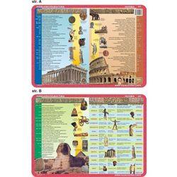 Podkładka edukacyjna Starożytny Egipt, Grecja, Rzym, bogowie Grecji i Rzymu