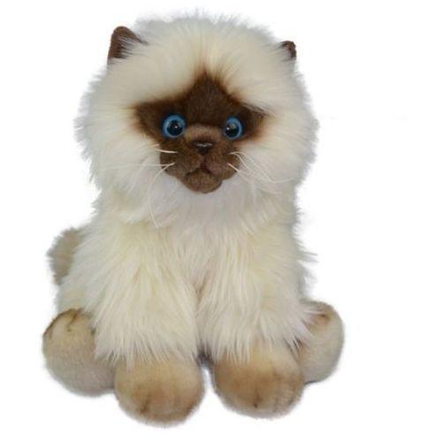 Pluszaki zwierzątka, Fluffy Fam kot Siamese 30cm