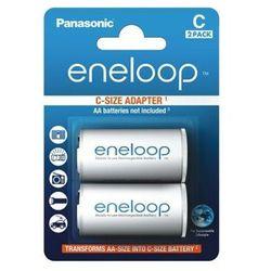 Panasonic Adapter Eneloop AA do R14 (BQ-BS2E/2E) - produkt w magazynie - szybka wysyłka!