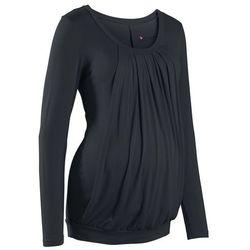 Shirt ciążowy i do karmienia piersią, do noszenia również po porodzie bonprix czarny