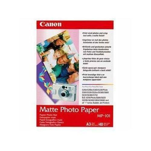 Papiery fotograficzne, Canon Photo Matte MP-101 A3 (7981A008) 40 ark Darmowy odbiór w 21 miastach!