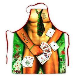 Fartuch Strip Poker - męski