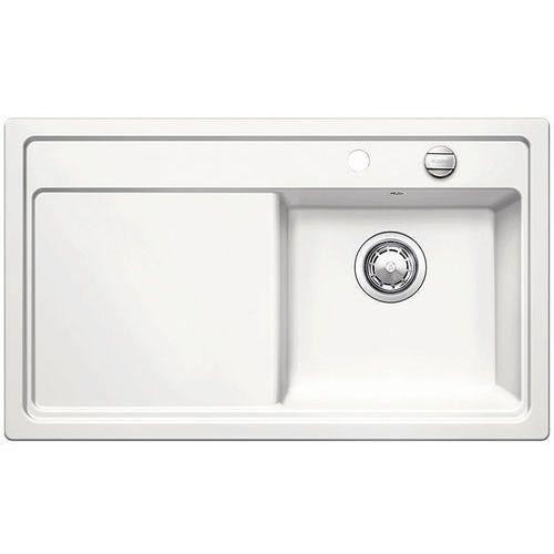 Zenar 45S Blanco Keramikplus zlewozmywak ceramiczny korek automatyczny prawy 510x860 biały kryształ - 517188