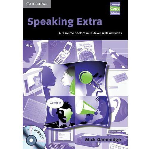 Książki do nauki języka, Speaking Extra With Audio CD (opr. miękka)