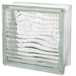 Pustak szklany Seves 1908 H 19 x 19 x 8 cm bezbarwny