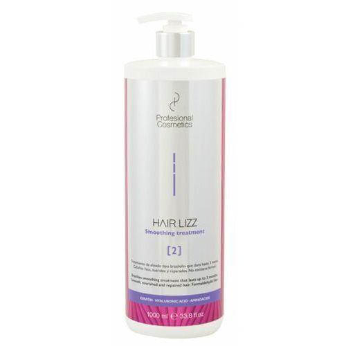 Odżywianie włosów, Profesional Cosmetics HAIR.LIZZ 2 SMOOTHING TREATMENT Zabieg keratynowego prostowania włosów typu brazylijskiego