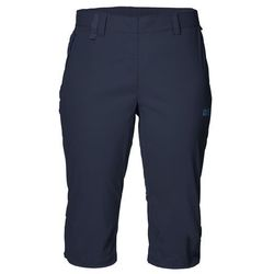 Spodnie softshell damskie ACTIVATE LIGHT 3/4 PANTS midnight blue - 46