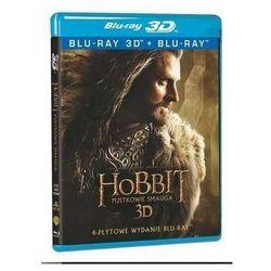 Hobbit: Pustkowie Smauga 3D. Edycja specjalna (4 BD)