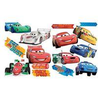 Naklejki na ściany, SPL162WD NAKLEJKI PŁASKIE W(45 X 65 CM) Disney Cars