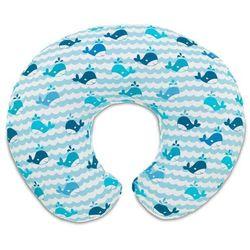 Boppy poduszka do karmienia Blue Whales