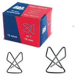 Spinacz krzyżowy GRAND 70mm 12szt. 110-1138