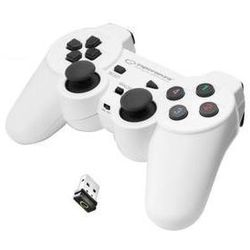 Gamepad Esperanza EGG108W Gladiator pro PC/PS3 (EGG108W - 5901299947272) Biały