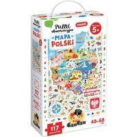 Puzzle, Puzzle obserwacyjne mapa polski 5+