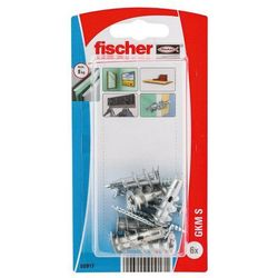 Kołki do g-k Fischer samowiercące metalowe 6 szt.