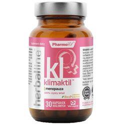 Klimaktil z dodatkiem BioPerine 30 kapsułek Vcaps PharmoVit Herballine