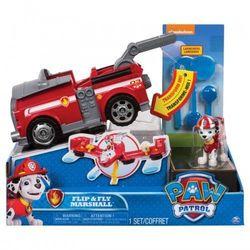 Psi Patrol, Flip and Fly Pojazd z figurka, Marshall - DARMOWA DOSTAWA OD 199 ZŁ!!!