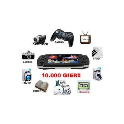 """Pozostałe gry i konsole, Wielofunkcyjna Konsola do Gier z LCD 4,3"""" (baza 10.000 gier!) + Kamera + Dyktafon + Współpraca z TV."""