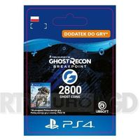 Pozostałe akcesoria do konsol, Tom Clancy's Ghost Recon: Breakpoint 2800 Ghost Coins [kod aktywacyjny] PS4