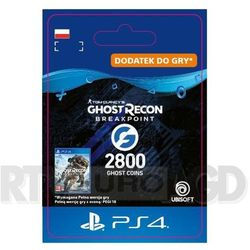 Tom Clancy's Ghost Recon: Breakpoint 2800 Ghost Coins [kod aktywacyjny] PS4