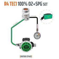 Tecline R4 TEC1 100% O2 M26x2 z manometrem, zestaw stage - EN250A