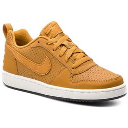 Buty NIKE - Court Borough Low (GS) 839985 701 Wheat/Wheat/Summit White/Black