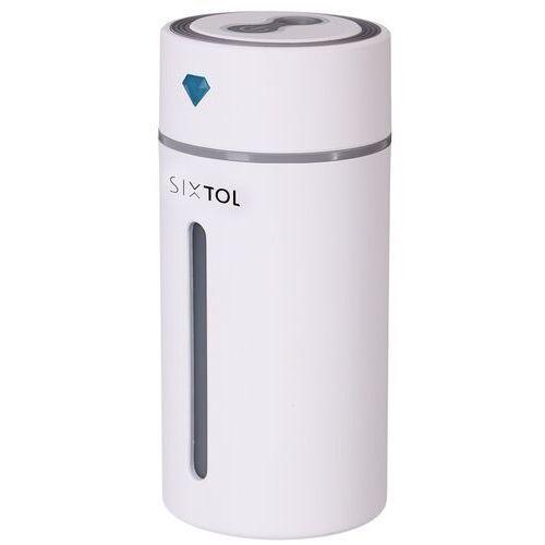Akcesoria do aromaterapii, Sixtol Dyfuzor zapachowy do samochodu Diamond Car biały, 250 ml