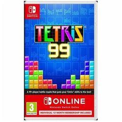 Gra Nintendo Switch Tetris 99 + Nintendo Switch Online 12 mies.