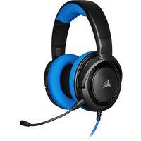 Pozostałe gry i konsole, Corsair słuchawki HS35 Stereo, niebieski