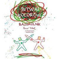 Książki dla dzieci, Bitwa kolorów + bazgrolnik (opr. broszurowa)