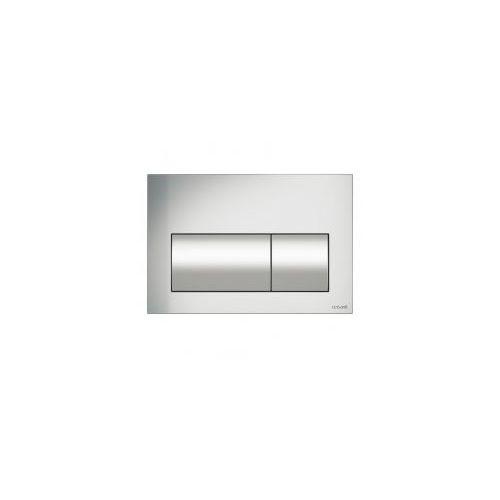 Cersanit presto przycisk spłukujący, chrom mat k97-348