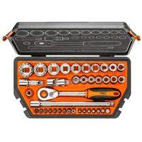 Zestawy narzędzi ręcznych, Zestaw kluczy nasadowych NEO 1/2 cala 08-630 (38 elementów) + Zamów z DOSTAWĄ JUTRO! + DARMOWY TRANSPORT!