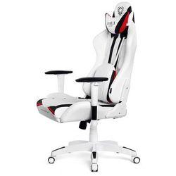 Fotel dla gracza DIABLO CHAIRS X-Ray biało-czarny rozmiar S