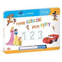 Książki dla dzieci, Disney Ucz się z nami. Rysuje szlaczki, piszę cyfry - Praca zbiorowa (opr. twarda)