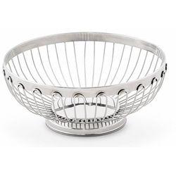Koszyk na chleb duży Platinum | Ø205x(H)80mm