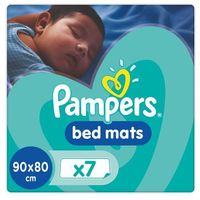 Pieluchy jednorazowe, Pampers Maty ochronne do łóżeczka (7 mat w paczce)