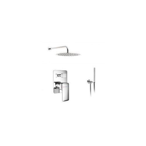 Zestawy Podtynkowy zestaw prysznicowy z baterią excellent keria arex.2044cr, chrom zest226